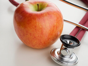 If I had to choose between apples or statins then I know what I'd choose!