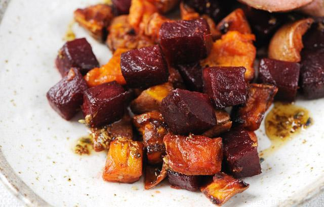 Beets And Sweet Potatoes - What A Great Combination!